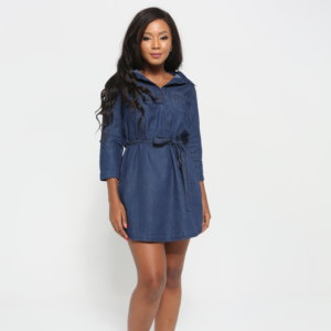 LADIES DENIM TUNIC